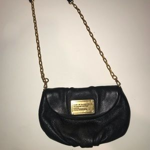 Marc by Marc Jacobs Black & Gold Crossbody
